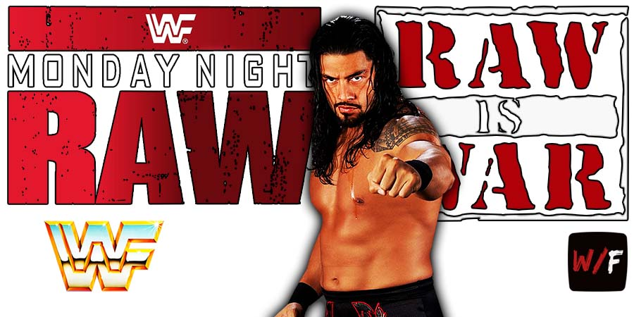 Roman Reigns RAW Article Pic 3 WrestleFeed App