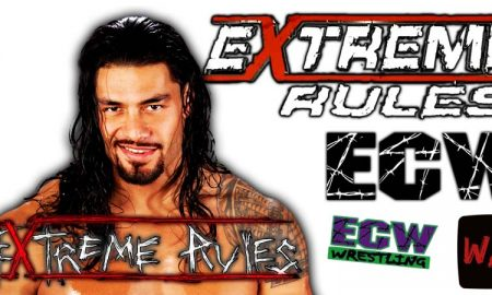 Roman Reigns WWE Extreme Rules 2021 PPV WrestleFeed App
