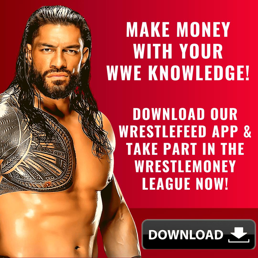 Roman Reigns WrestleFeed App WrestleMoney Ad 1