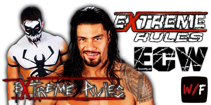 Roman Reigns beats The Demon Finn Balor At WWE Extreme Rules 2021 WrestleFeed App
