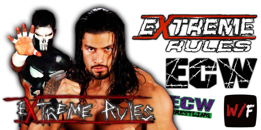 Roman Reigns defeats The Demon Finn Balor At WWE Extreme Rules 2021 PPV WrestleFeed App