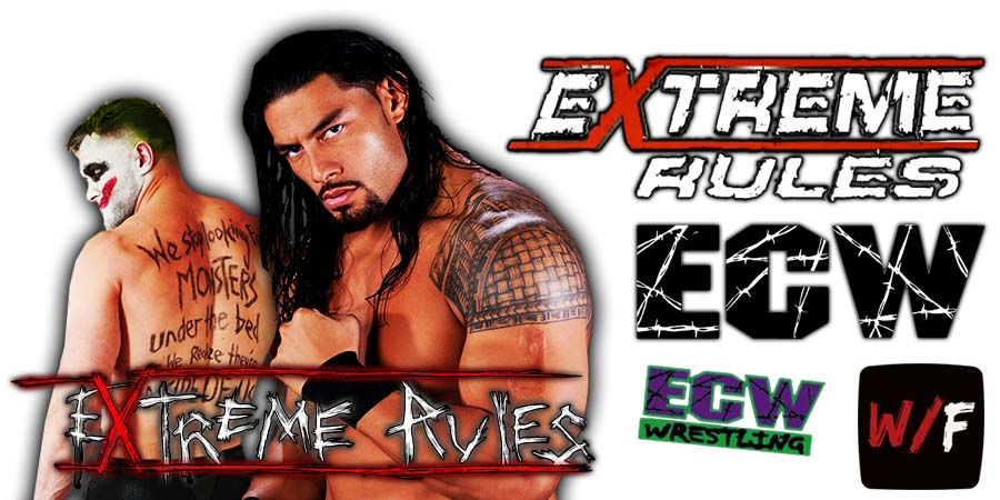 Roman Reigns defeats The Demon Finn Balor At WWE Extreme Rules 2021 WrestleFeed App