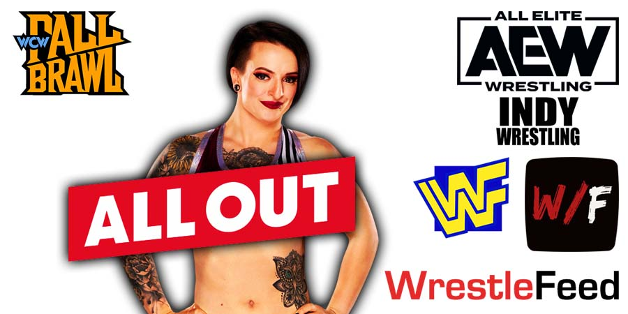 Ruby Riott Soho All Out 2021 WrestleFeed App