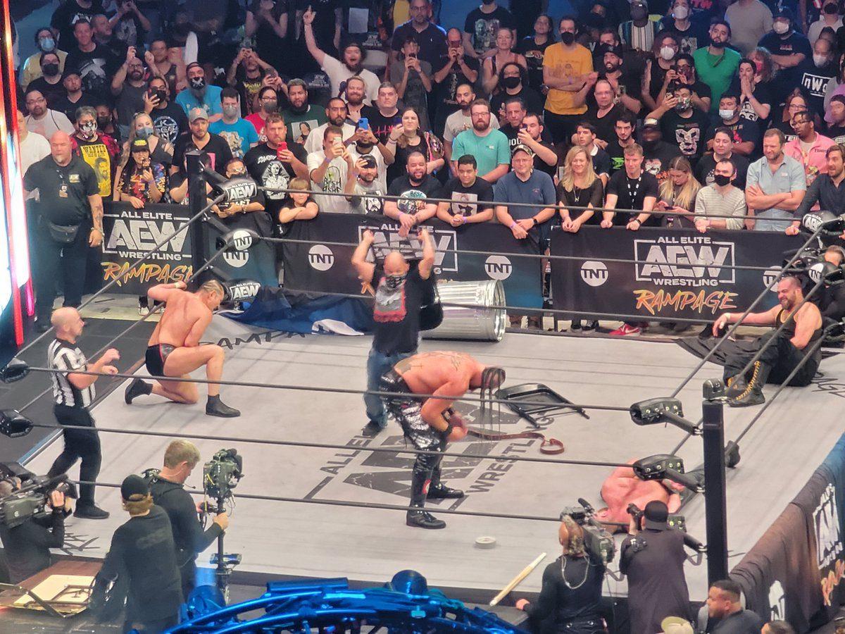 TNA Star Homicide AEW Rampage Grand Slam