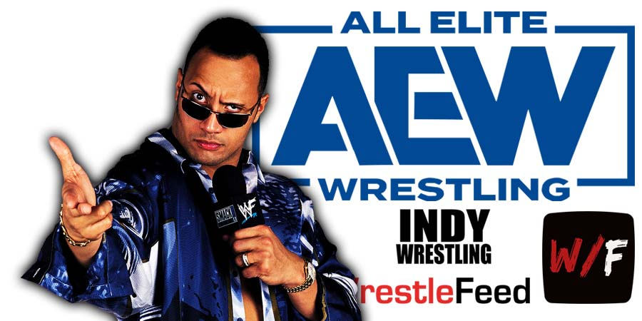 The Rock AEW Article Pic 2 WrestleFeed App