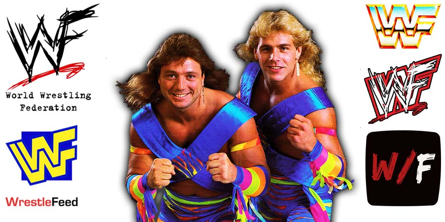 The Rockers Shawn Michaels Marty Jannetty Article Pic 1 WrestleFeed App