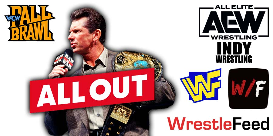 Vince McMahon AEW All Out WrestleFeed App