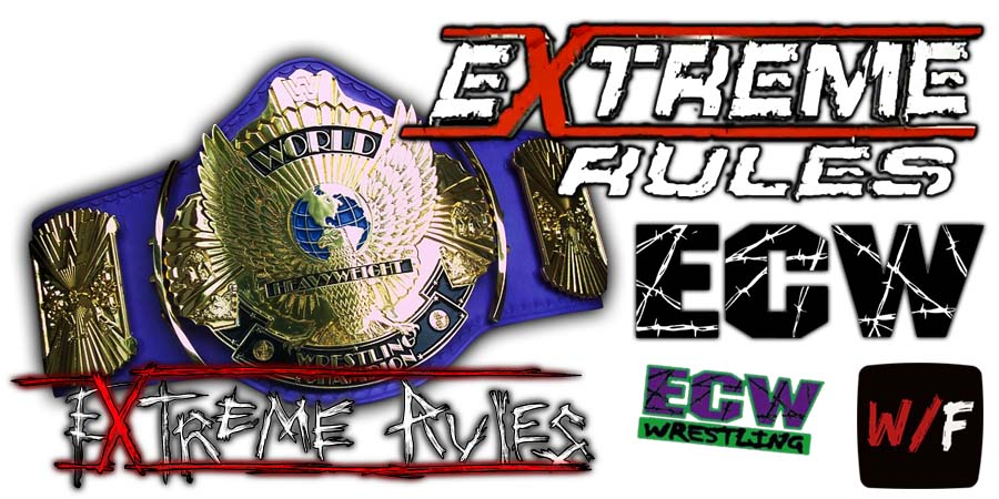 WWE Championship Title Match Extreme Rules WrestleFeed App