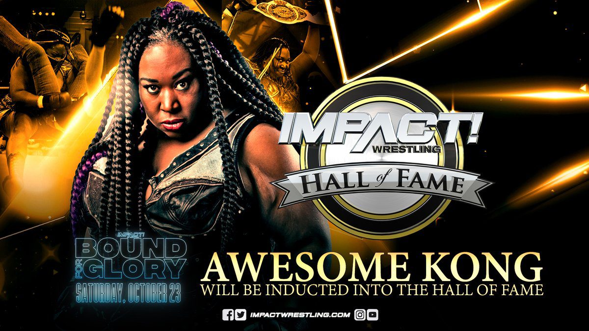 Awesome Kong Impact Wrestling Hall Of Fame 2021