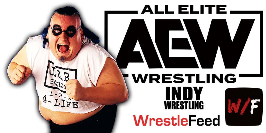 Blue Meanie AEW Article Pic 1 WrestleFeed App