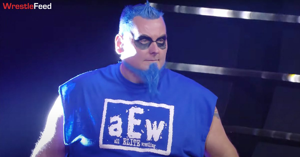 Blue Meanie AEW Debut All Elite Wrestling T-Shirt WrestleFeed App