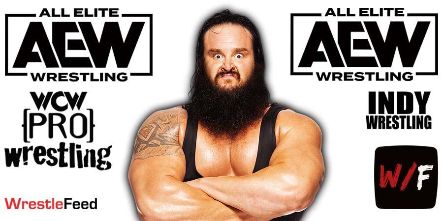 Braun Strowman - Adam Scherr AEW Article Pic 1 WrestleFeed App