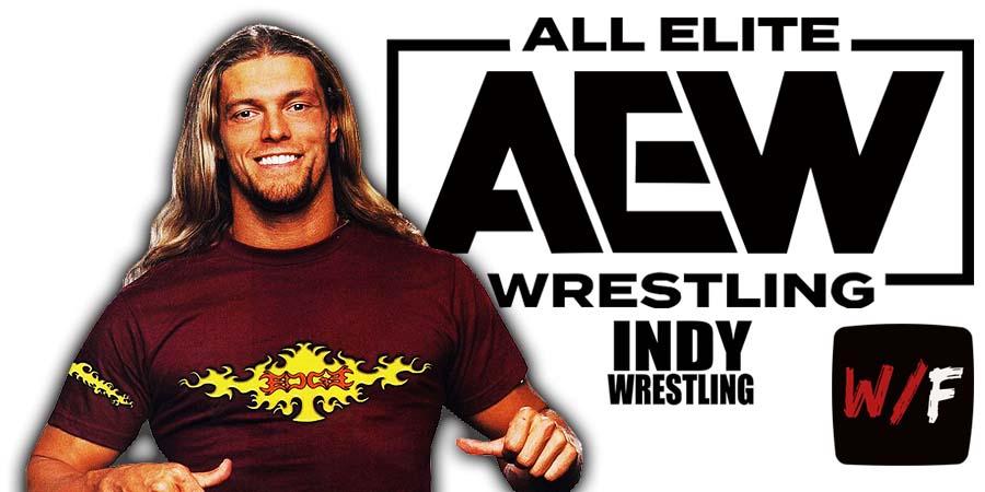 Edge AEW All Elite Wrestling Article Pic 3 WrestleFeed App