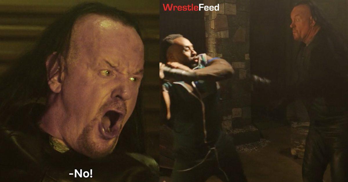 Escape The Undertaker Big E Fight Scene WrestleFeed App