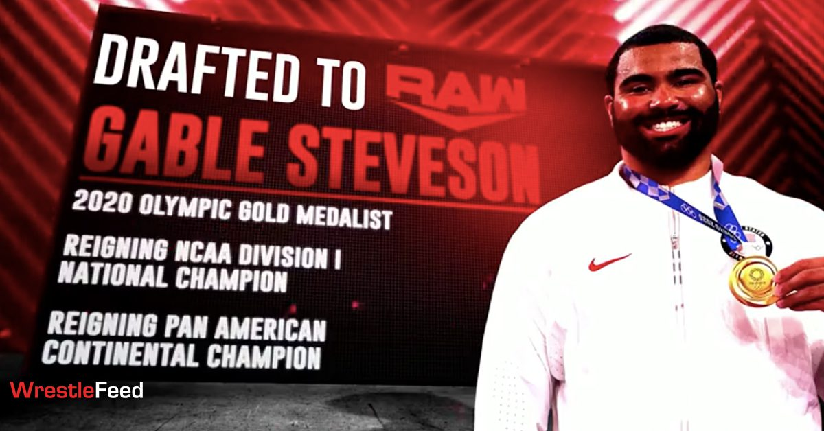 Gable Steveson Olympic Gold Medalist Drafted To WWE RAW WrestleFeed App