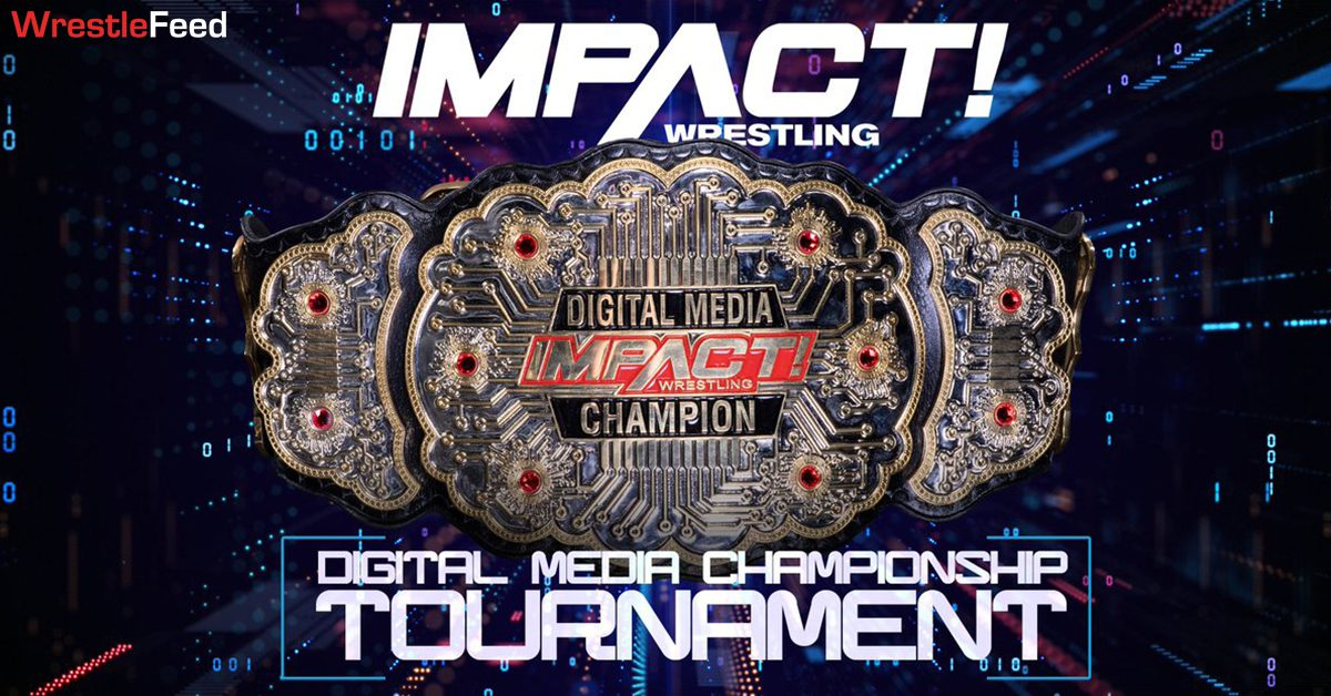IMPACT Wrestling Digital Media Championship Title Belt Tournament WrestleFeed App