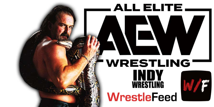 Jake Roberts AEW All Elite Wrestling Article Pic 5 WrestleFeed App