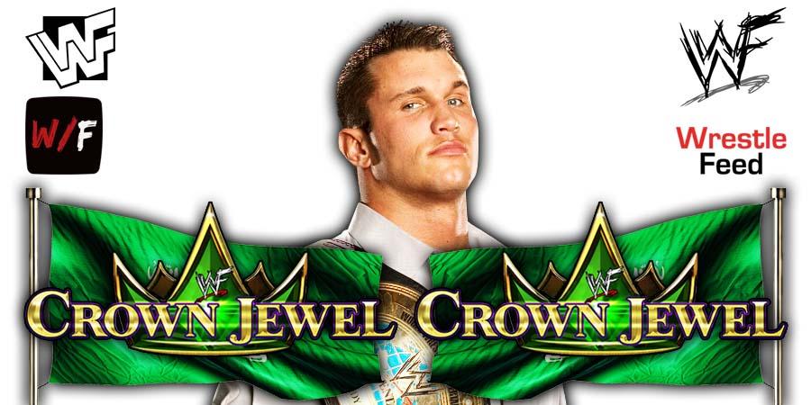 Randy Orton WWE Crown Jewel 2021 WrestleFeed App