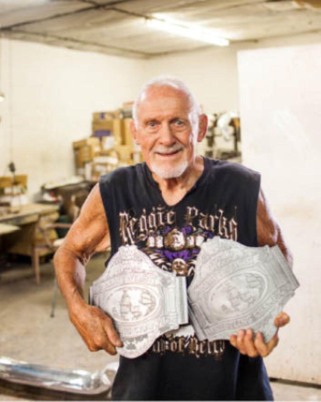 Reggie Parks Legendary WWF Belt Maker