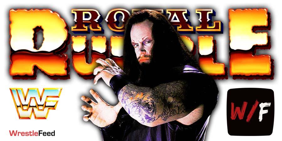 The Undertaker Royal Rumble WrestleFeed App
