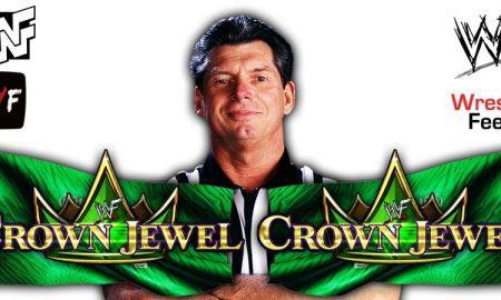 Vince McMahon Crown Jewel 2021 WrestleFeed App