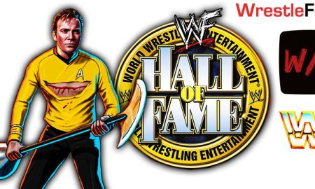 William Shatner WWE Hall Of Fame Celebrity Wing WrestleFeed App