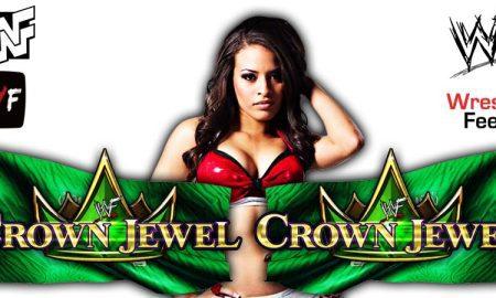 Zelina Vega Crown Jewel 2021 WrestleFeed App